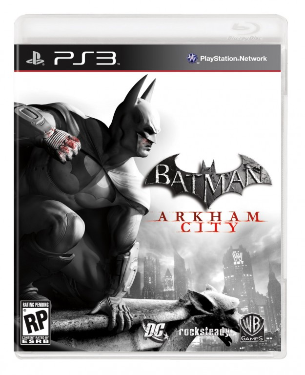 Batman Arkham City Cover Art