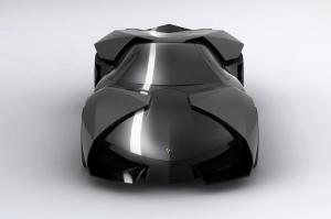 """Lamborghini Concept Car """"Ankonian"""" Design by Slavche Tanevski"""