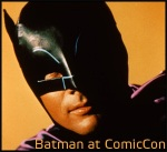 Batman 45th Anniversary Panel at ComicCon with Adam West, Julie Newmar, Burt Ward