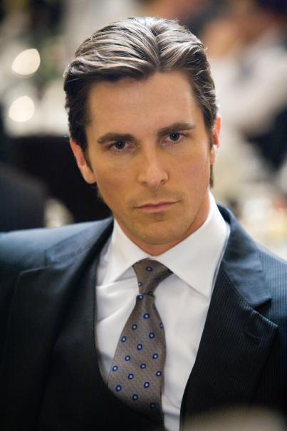 Christian Bale is Bruce Wayne / Batman in The Dark Knight Rises
