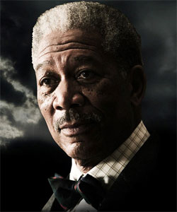 Morgan Freeman is Wayne Enterprises Executive and Batman's Q in The Dark Knight Rises