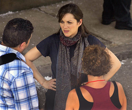 The Dark Knight Rises Set Photos from Location Shooting in Pittsburgh: First Look at Marion Cotillard as Miranda Tate