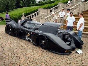 Turbine-powered Batmobile