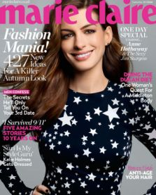 Anne Hathaway (Selina Kyle, Catwoman in The Dark Knight Rises) is sexier than ever in September's Marie Claire