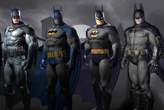 Batman Arkham City Costume Skins are a pre-order perk