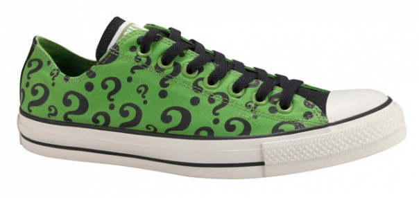 Batman Merchandise: Riddler Converse Clogs