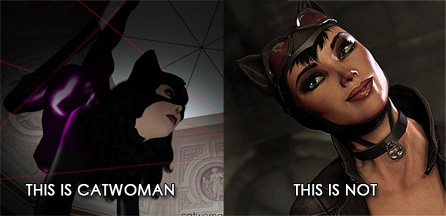Batman: Arkham City gets it all wrong:  Catwoman
