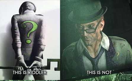 Arkham City gets it all wrong: The Riddler
