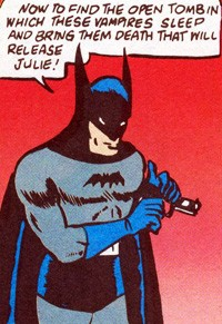 Batman does not kill, Batman does not use a gun