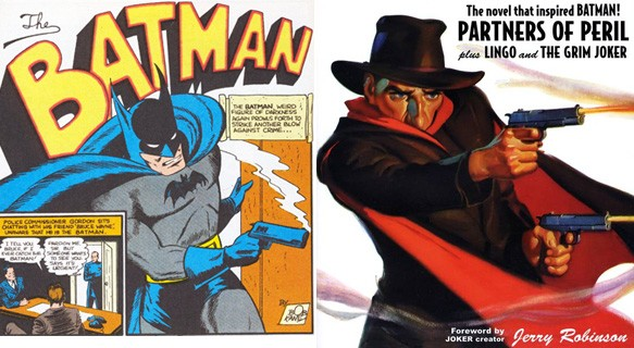 Batman does not kill, Batman does not use a gun