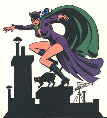Catwoman Skins for Catwoman in Arkham City - The Golden Age Classic Shows off her shapely legs