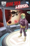 DC Comics Legion of Superheroes IDW Star Trek Crossover