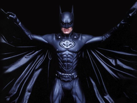 It's high time George Clooney admitted his Batman was shit