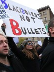 Anne Hathaway joins Occupy Wall Streeet Protest: Blackboards not Bullets
