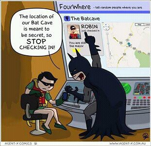 Batman Humor: Batman's Social Network Nightmare