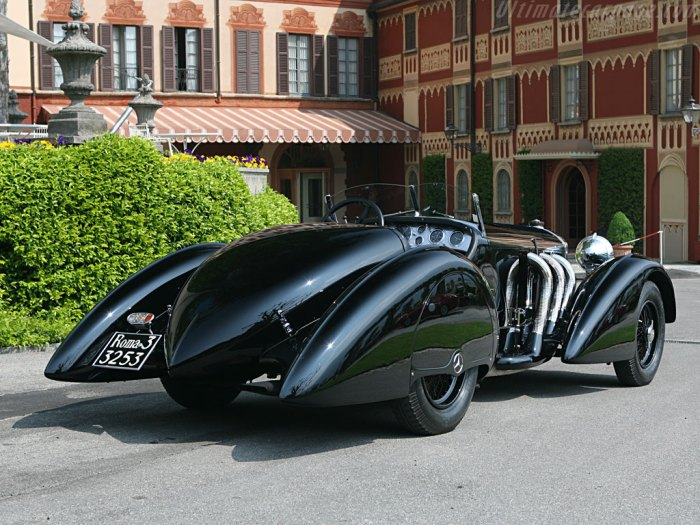 The Prototype Batmobile?  It sure could be, this car is 80 years old.