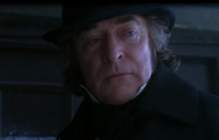 Michael Caine (Alfred Pennyworth in The Dark Knight Rises) is an amazingly classic Ebenezer Scrooge despite playing opposite muppets