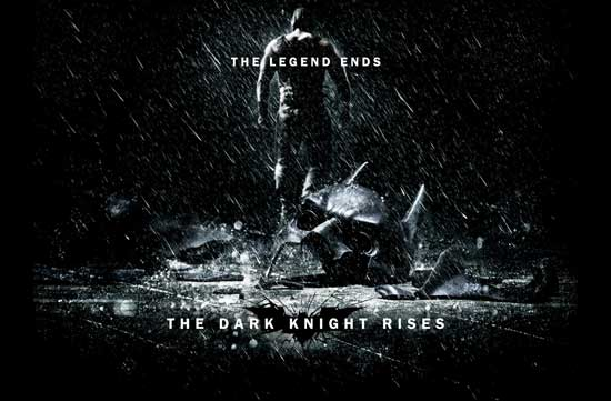 The Dark Knight Rises: Official Website reveals new poster: Broken Bat Mask, Bane