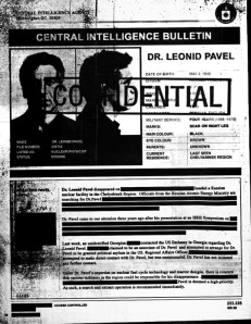 Dr. Leonid Pavel - The Dark Knight Rises Viral begins with leaked CIA memo of missing russian scientist