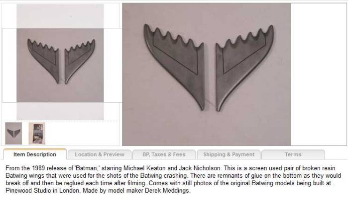batman-movie-memorabilia-for-sale-batwing